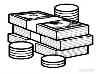 Play-Money-Coloring-Pages