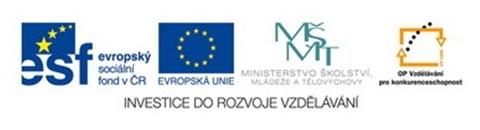 EU - Investice do rozvoje vzdělávání