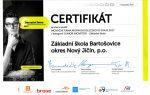 Certifikát Junior Inovátor